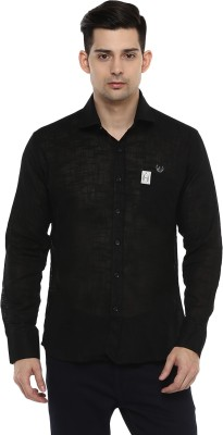 LOBSTER Men's Solid Casual Shirt