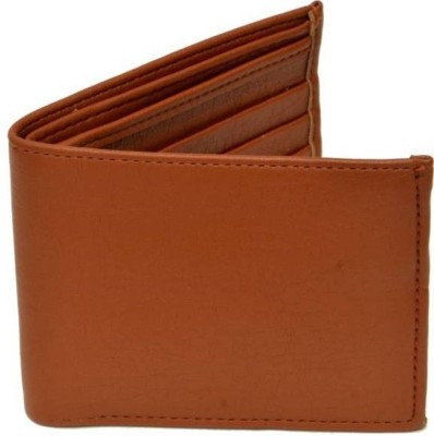 Eagle Buzz Men Tan Artificial Leather Wallet(3 Card Slots)  available at flipkart for Rs.140