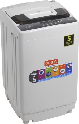 Onida 6.5 kg Fully Automatic Top Load Washing Machine Grey(T65CGD)