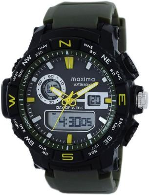 Maxima 49121PPAN  Analog-Digital Watch For Men
