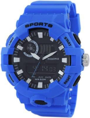 Maxima 49102PPAN  Analog-Digital Watch For Men
