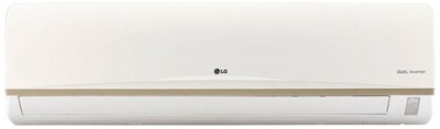 LG 1.5 Ton 3 Star BEE Rating 2018 Inverter AC  - White(JS-Q18AUXA2, Copper Condenser)   Air Conditioner  (LG)