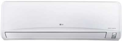 LG 1 Ton 3 Star BEE Rating 2018 Inverter AC - White(JS-Q12NUXA1, Copper Condenser) 1