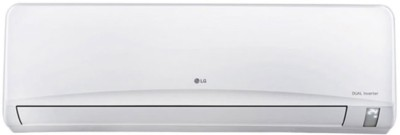 LG 1.5 Ton 3 Star BEE Rating 2018 Inverter AC  - White(JS-Q18NUXA2, Copper Condenser)