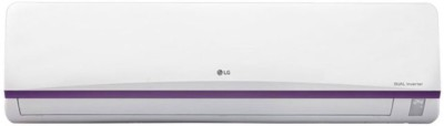LG 1.5 Ton 3 Star BEE Rating 2018 Split AC  - White(JS-Q18BUXD, Copper Condenser)   Air Conditioner  (LG)