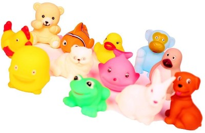 ODDEVEN Baby Swimming 12 Pcs Sounding-Bath Toy Bath Toy(Multicolor)