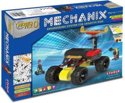 Golden Feather Mechanix Robotix -0(Multicolor)  available at flipkart for Rs.595