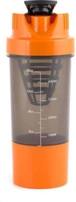 XUDO Crossfit Shake It Gym Shaker For Protein/Water Purpose color of the product may vary/ 500 ml Shaker, Sipper, Bottle, Bottle Cage(Pack of 1, Multicolor)  available at flipkart for Rs.259