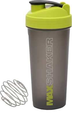 Jaypee Plus Max Gym bottle 700 ml Shaker(Pack of 1, Green)  available at flipkart for Rs.166
