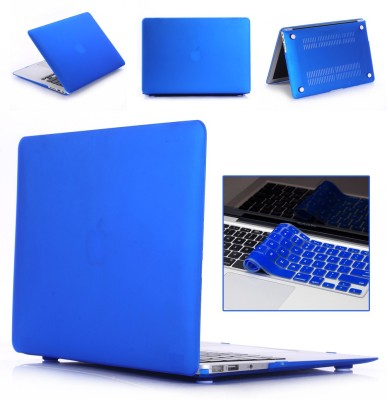"Robustrion Front & Back Case for MacBook Air 13"" (A1369 / A1466)(Blue, Laptop Case)"