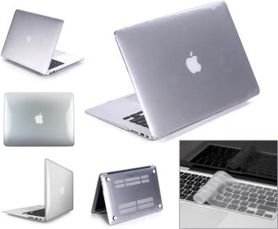 """Robustrion Front & Back Case for MacBook Pro 13"""" (A1278)(Transparent, Laptop Case)"""