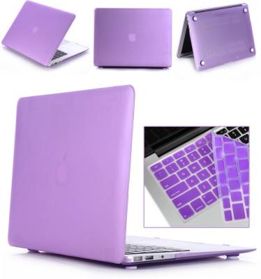 "Robustrion Front & Back Case for MacBook Air 13"" (A1369 / A1466)(Purple, Laptop Case)"