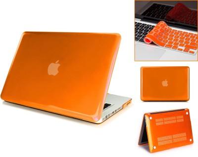"Robustrion Front & Back Case for MacBook Air 13"" (A1369 / A1466)(Orange, Laptop Case)"