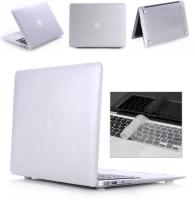 "Robustrion Front & Back Case for MacBook Air 13"" (A1369 / A1466)(Transparent, Laptop Case)"