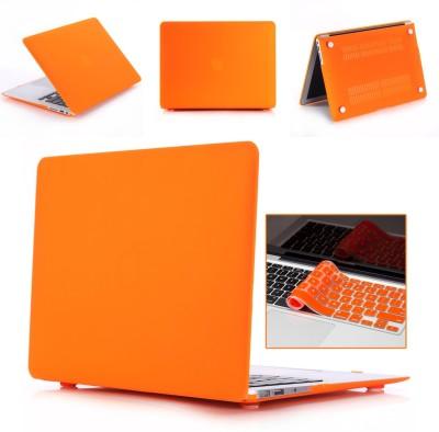 """Robustrion Front & Back Case for MacBook Pro 13"""" (A1278)(Orange, Laptop Case)"""