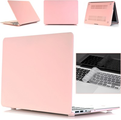 "Robustrion Front & Back Case for MacBook Air 13"" (A1369 / A1466)(Pink, Laptop Case)"