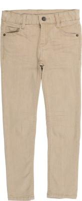 Tickles By Inmark Skinny Boys Beige Jeans