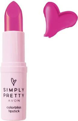 Avon Color Bliss Lipstick 4 GM Pretty Plum