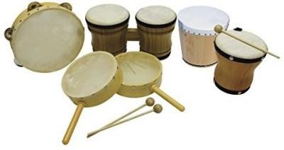 Rhythm Band Drums Instrument Kit(Multicolor)