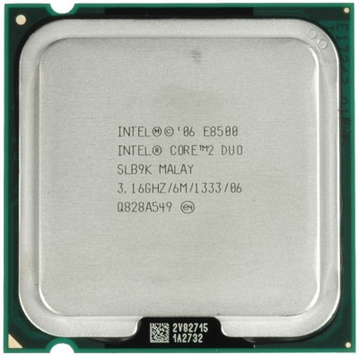 Intel 3.16 GHz LGA 775 e 8500 Processor(Silver)