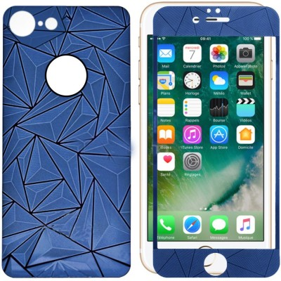Case Creation Front and Back Screen Guard for Apple iPhone 7 Plus(Pack of 2)