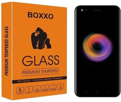 Boxxo Tempered Glass Guard for Micromax Canvas 1