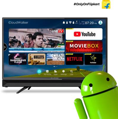 Cloudwalker 32 inch HD Ready Smart LED TV is a best LED TV under 20000