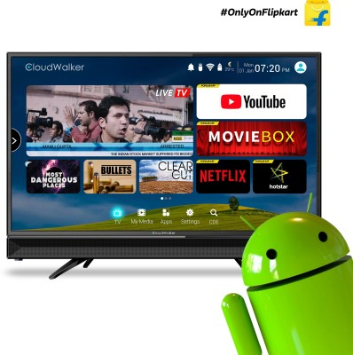 Cloudwalker 32 inch HD Ready LED Smart TV is one of the best LED televisions under 25000