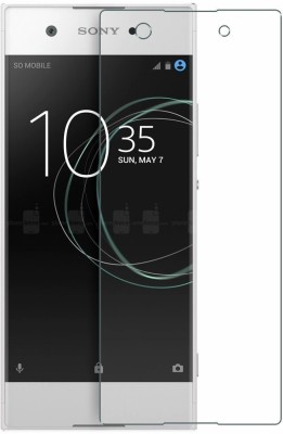 Desirtech Tempered Glass Guard for Sony Xperia XA Ultra Dual(Pack of 1)