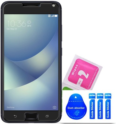 Bibossi Tempered Glass Guard for Asus Zenfone 4 Max ZC554KL [5.5 Inch](Pack of 1)