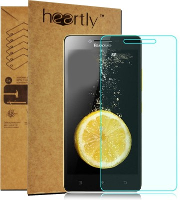 Heartly Tempered Glass Guard for Lenovo A6000 A6000+ Plus(Pack of 1)