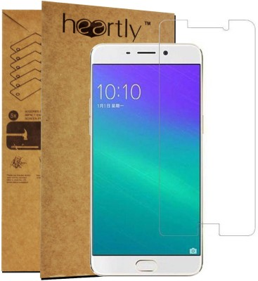 Heartly Tempered Glass Guard for OPPO F1 Plus(Pack of 1)