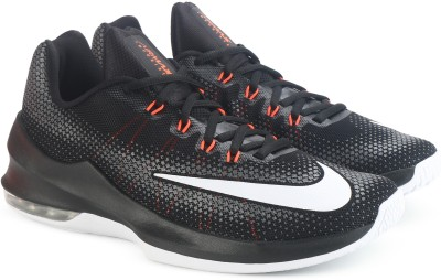 20% OFF on Nike AIR MAX INFURIATE LOW Basketball Shoes For Men(Black)