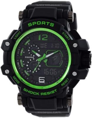 Maxima 48563PPAN  Analog-Digital Watch For Men