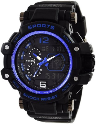 Maxima 48562PPAN  Analog-Digital Watch For Men