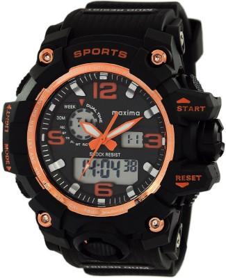 Maxima 48570PPAN  Analog-Digital Watch For Men