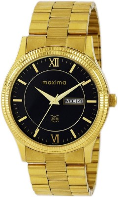Maxima 45222CMGY  Analog Watch For Men