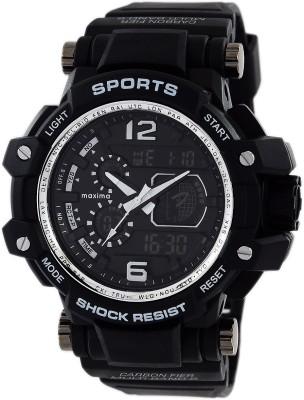 Maxima 48560PPAN  Analog-Digital Watch For Men