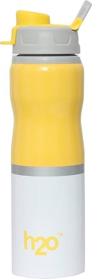 Skywalk H2O SB-142 Stainless Steel Water Bottle, 750ml, Yellow 750 ml Sipper (Pack of 1) 750 ml Bottle(Pack of 1, Yellow)  available at flipkart for Rs.489