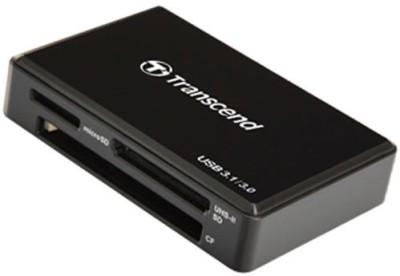 Transcend TS-RDF9K Card Reader(Black)  available at flipkart for Rs.1725