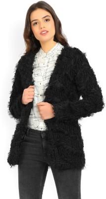 Vero Moda Women No Closure Solid Cardigan