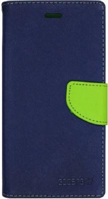 Hoverkraft Flip Cover for Motorola Moto C Plus Blue