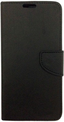 MAX CASE Flip Cover for HUAWEI HONOR HOLLY 4(Black, Artificial Leather)