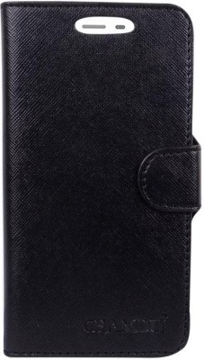 CHAMBU Flip Cover for Karbonn Quattro L55 HD(Black, Shock Proof)