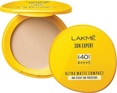 Lakme Sun Expert Ultra Matte SPF 40 PA+++ Compact(Beige)