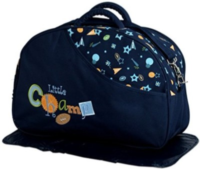 Guru Kripa Baby Products New Born Baby Multi purpose Mother Bag With Holder Dipper Changing Multi Compartment For Baby Care And Maternity Handbag Messenger Bag Diaper Nappy Mama Shoulder Bag Diaper Bag For Baby Multipurpose Waterproof Mother Bag Diaper Bag (Navy Blue) Mother Bag (Navy Blue) Mother B