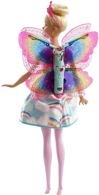 Barbie Flying Wings Feature Fairy(Multicolor)  available at flipkart for Rs.1299