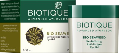 Biotique Bio Seaweed Revitalizing Anti Fatigue Eye Gel, 15 GM