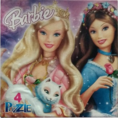 Barbie Disney Princess(4 Pieces)