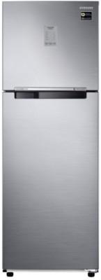 Samsung 275 L Frost Free Double Door 3 Star Convertible Refrigerator Elegant Inox, RT30N3723S8 NL/RT30N3723S8 HL  Samsung Refrigerators